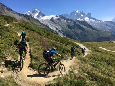 single track riding in le Tour